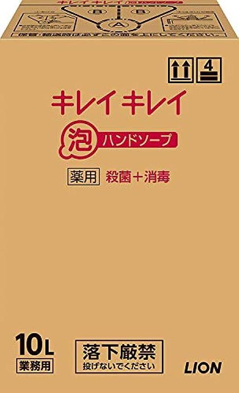 懺悔のれん最小化するキレイキレイ薬用泡ハンドソープ 10L (1ケース)