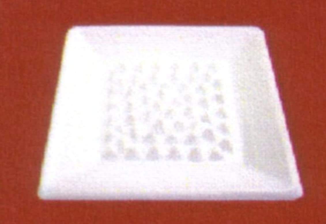 影響水陸両用受動的BASICインセンスディッシュ(香皿) ホワイト