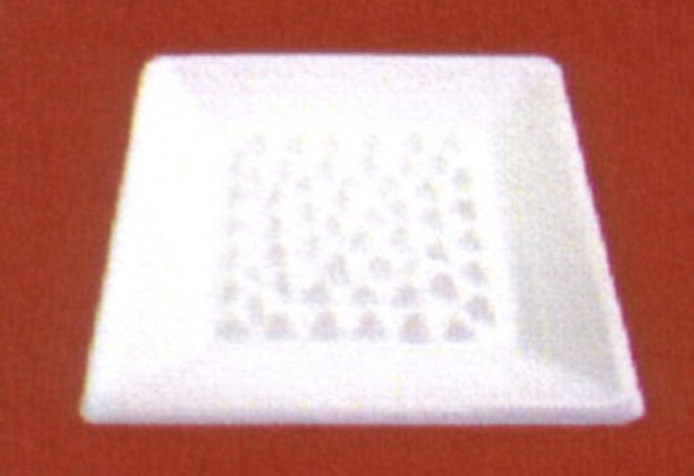 タップヘビ同意BASICインセンスディッシュ(香皿) ホワイト