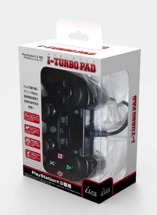 PlayStation3専用アナログ連射コントローラ『i-TURBO PAD (アイターボパッド) 』