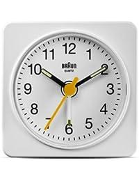 BRAUN ブラウン BNC019WH BNC019BK 目覚まし時計 置き時計 (ホワイト) [並行輸入品]