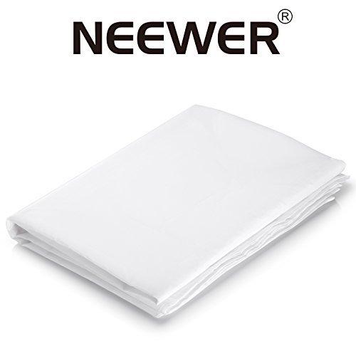 NEEWER 0.9Mx1.5M ナイロンシルク 白いシーム...