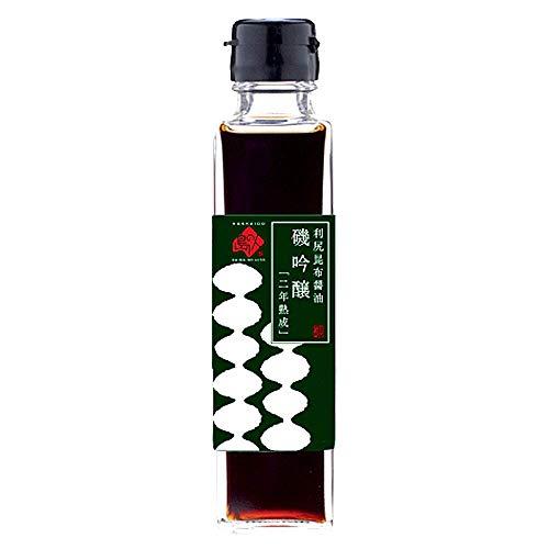 島の人 「磯吟醸」利尻昆布 醤油 (150ml) 長期保存可能 刺身 醤油 しょうゆ