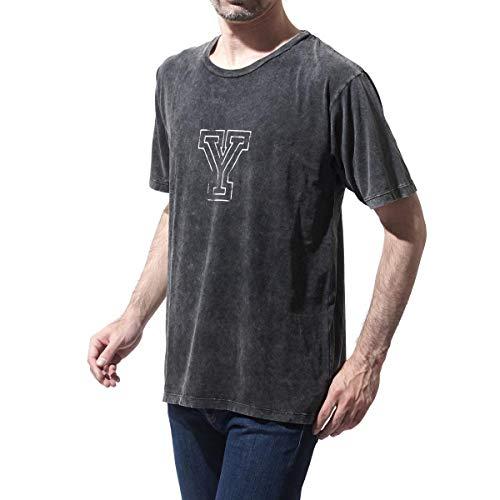 (サンローランパリ) SAINT LAURENT PARIS クルーネック Tシャツ [並行輸入品]