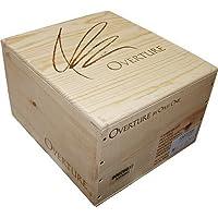【ワイン木箱 / 木箱のみ】 ■オーバーチュア 6本木箱■ 【蓋付き】