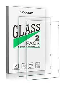 Nintendo Switch ガラスフィルム,Yoozon【2枚入り】保護フィルム 硬度9H 超薄0.33mm 2.5D 耐衝撃 撥油性 超耐久 耐指紋 飛散防止処理 保護フィルム