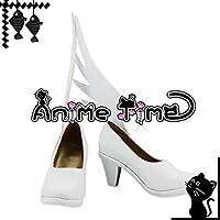 ●●サイズ選択可●●男性28CM MJR1431 コスプレ靴 ブーツ 魔法少女まどか☆マギカ 鹿目まどか