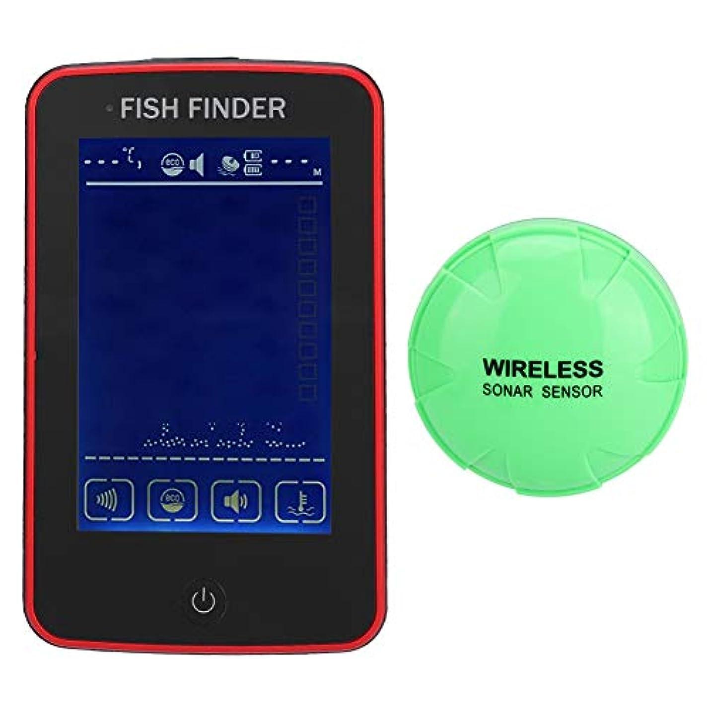 蒸留コカイン事実SoarUp 魚群探知機釣り検出器無線設計釣り用大画面HDディスプレイ105°の検出角度500Mの超長距離検知タッチスクリーン設計防水