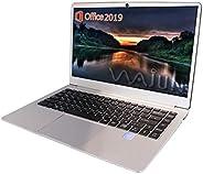 wajun ノートPC Pro-8未使用品/MS Office 2019/win 10/Webカメラ/MicroHDMI/Bluetooth/WIFI/Celeron N3450/8GB/256GB SSD (整備済み品