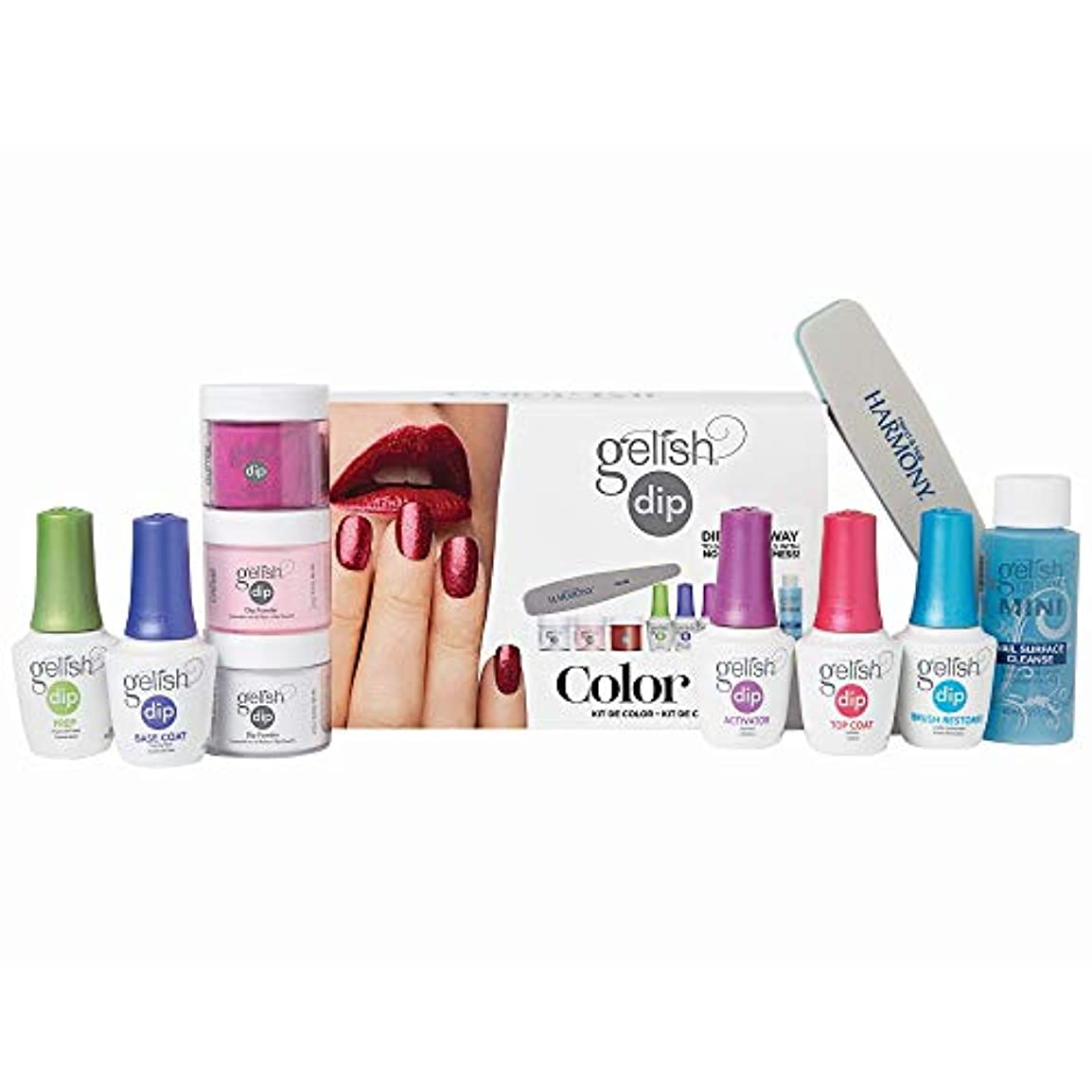 資源感じる誇張するHarmony Gelish - Acrylic Dip Powder - Color Kit