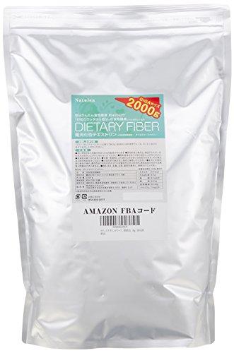 ナチュリア ダイエタリーファイバー 難消化性デキストリン(水溶性食物繊維) 微顆粒品 2kg 国内充填