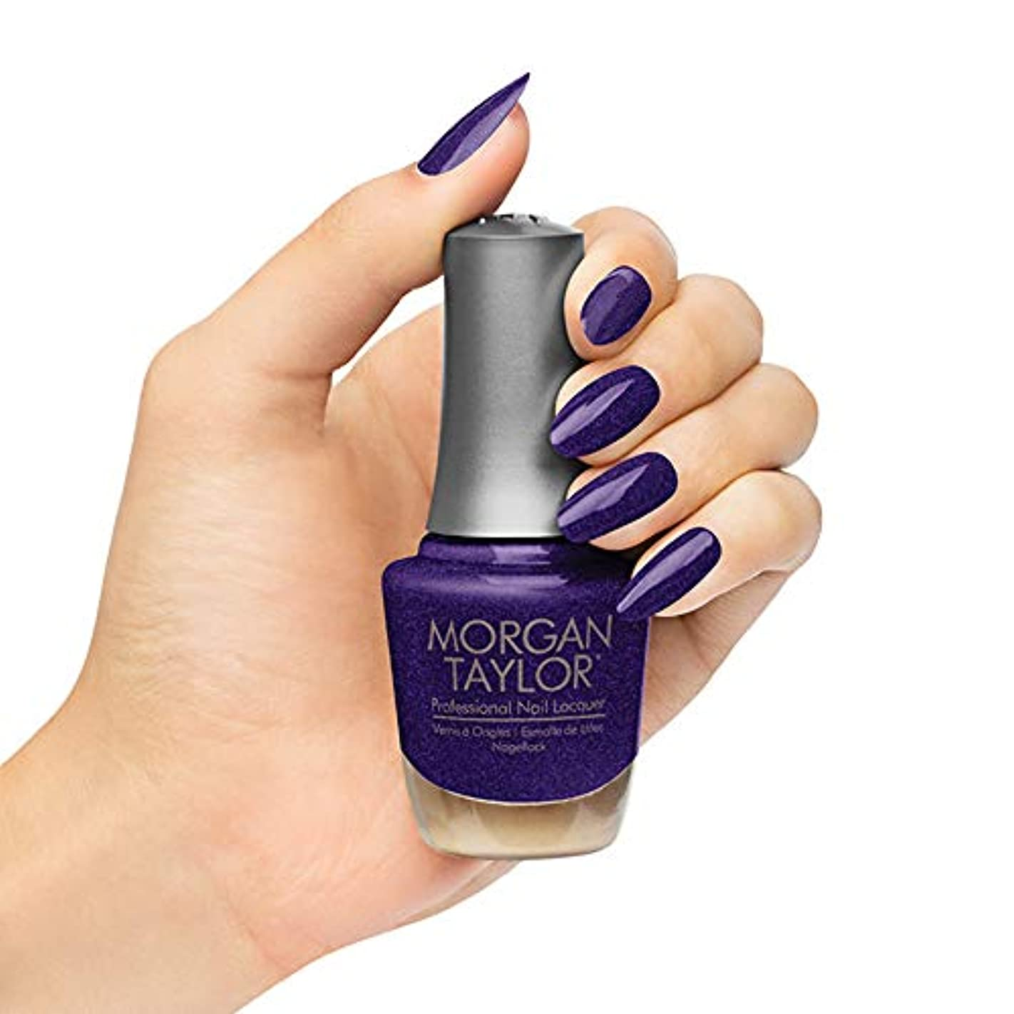 独裁発疹道に迷いましたMorgan Taylor - Professional Nail Lacquer - Best Face Forward - 15 mL / 0.5oz