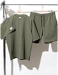 (コーエン) COEN (3点セット) ストレッチクルーネックTシャツサマーセットアップ(一部WEB限定カラー) 75256098112