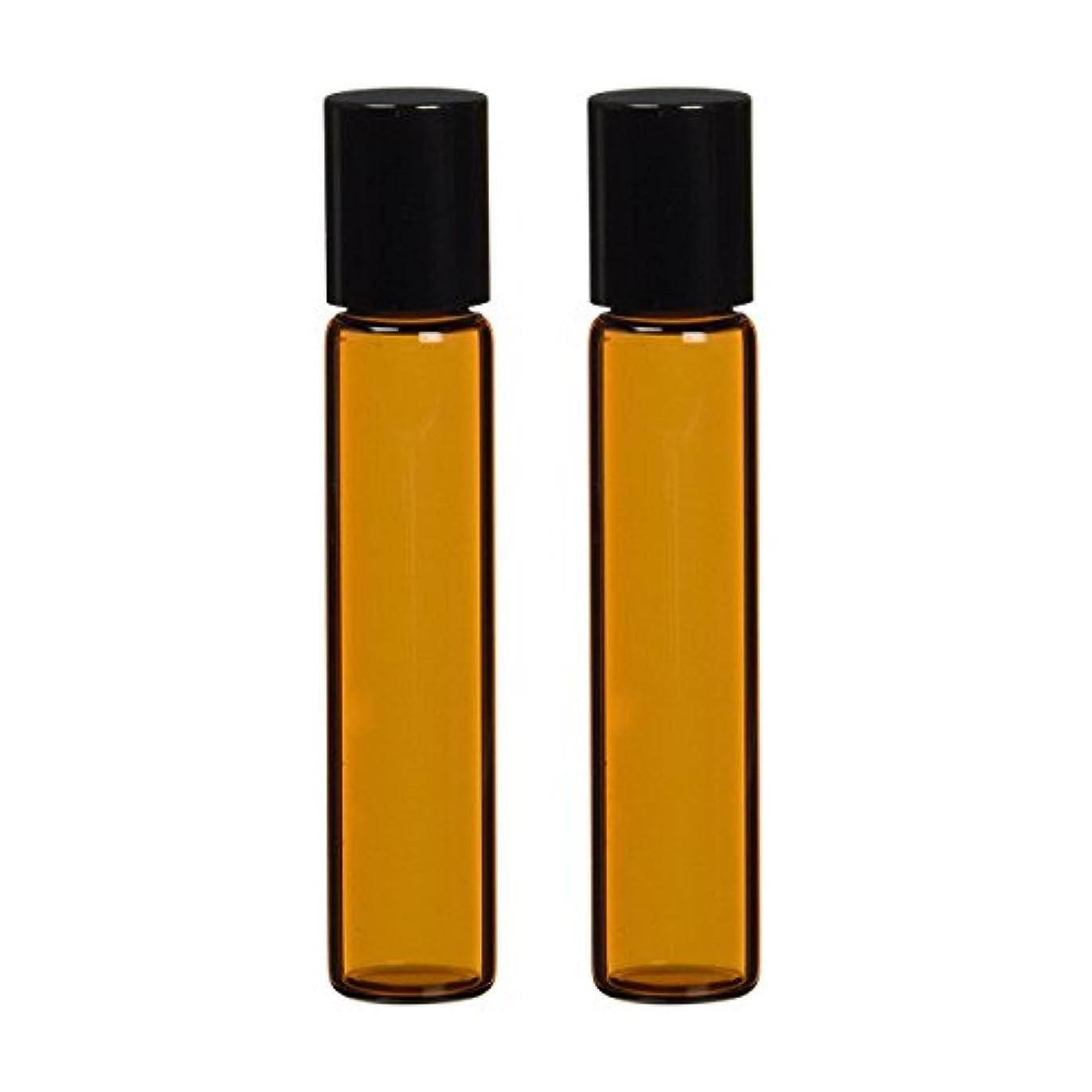 生活の木 茶色遮光ガラスロールオンボトル 7ml (2本セット)