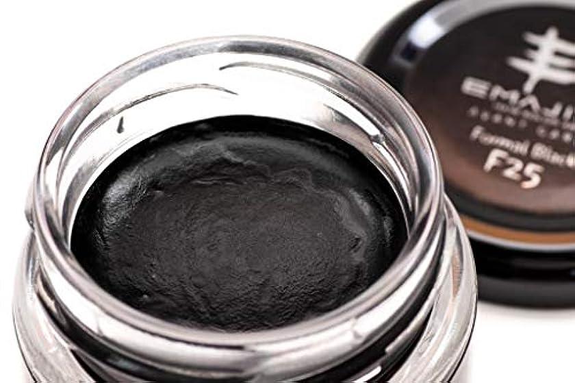 光電流行蒸し器EMAJINY カラーワックス Formal Black F25 ブラック 36g