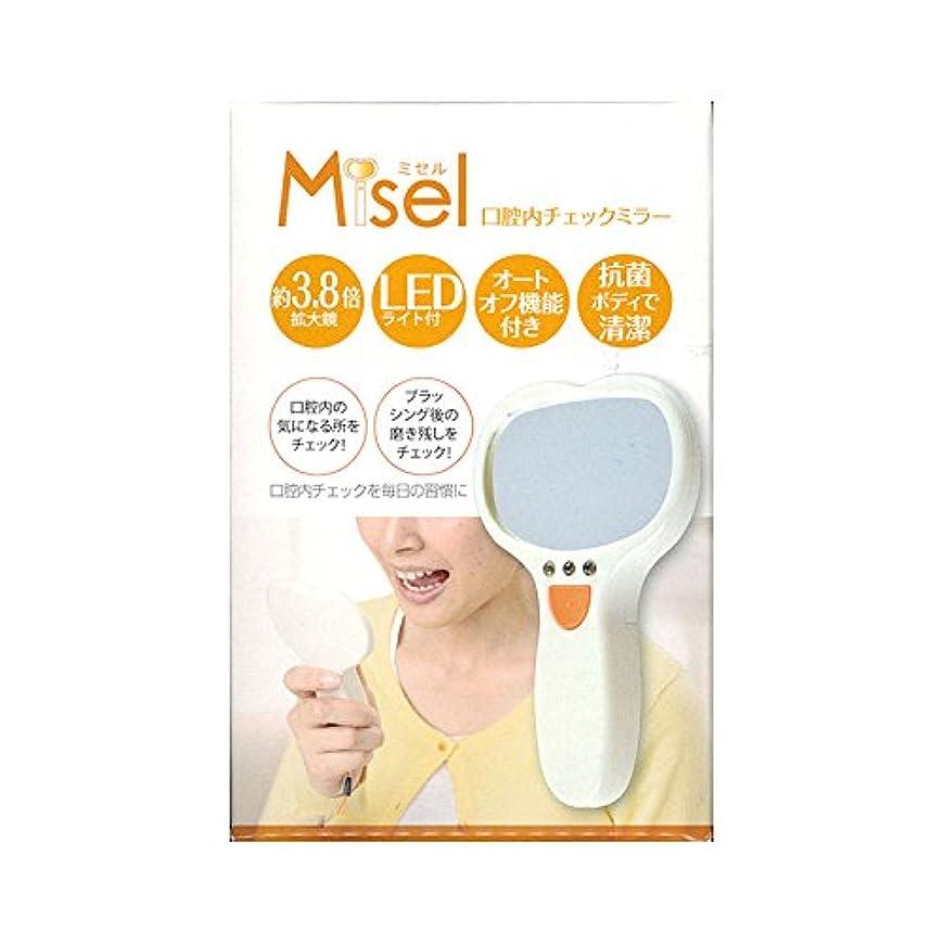 雪だるま命令乳製品口腔内チェックミラー ミセル Misel