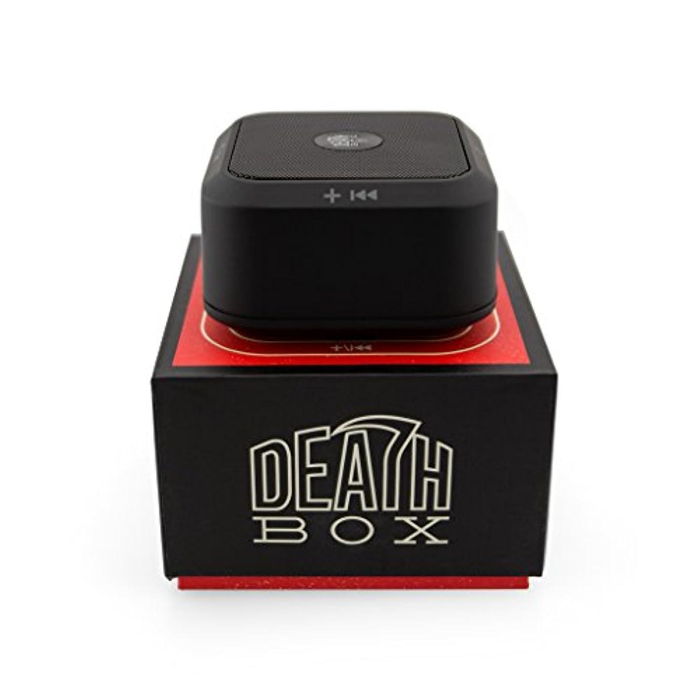 鬼ごっこ嫌がらせ粒DEATH LENS(デスレンズ) DEATH DIGITAL DEATH BOX Bluetooth SPEAKER 通話機能あり (国内正規品) DL125