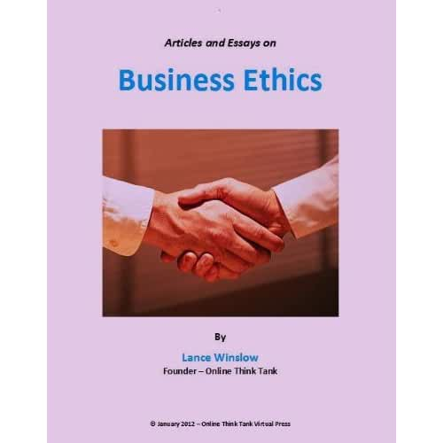 business ethics 38 essay Business ethics is a field of study dealing with moral concepts taking place in business here is a list of topics that you can consider for research.