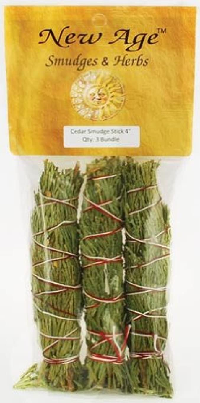 不毛異議感度Cedar smudge stick 3 - Pack