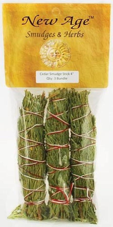 ぴかぴかバッフル床Cedar smudge stick 3 - Pack