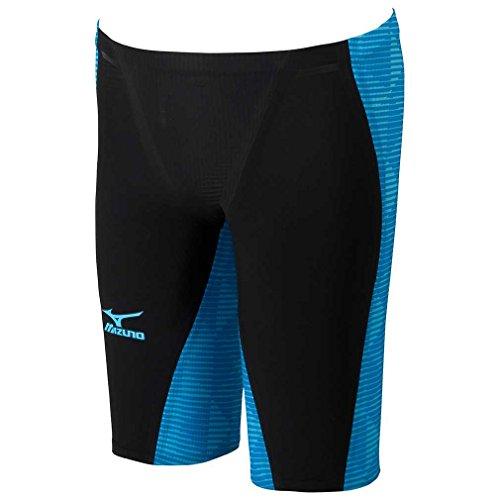 MIZUNO(ミズノ)レース用競泳水着メンズGX-SONICIIIMRハーフスパッツFINA承認N2MB600292サイズ:Mブラック×ブルー