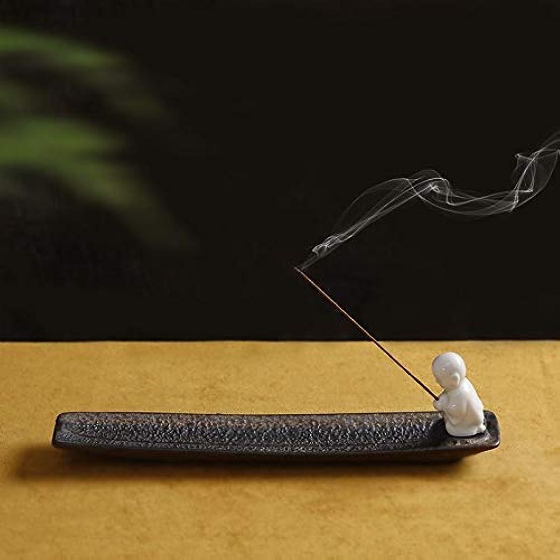 追う不公平ダムPHILOGOD 陶器香炉 クリエイティブスタイリング香置物 仏壇用線香立て 香皿