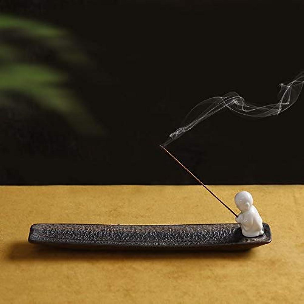と遊ぶ普遍的なホラーPHILOGOD 陶器香炉 クリエイティブスタイリング香置物 仏壇用線香立て 香皿