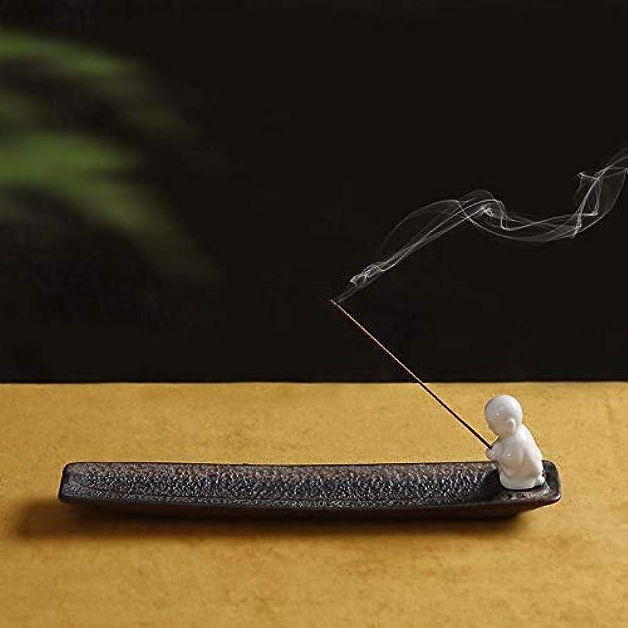 平手打ちカジュアル兄PHILOGOD 陶器香炉 クリエイティブスタイリング香置物 仏壇用線香立て 香皿