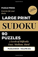 Large Print Sudoku: Puzzle Book for Seniors, Adults, Elderly and Vision Impaired | Easy, Medium and Hard Puzzles