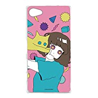 hare. Xperia Z5 Compact e5823 ケース クリア TPU プリント ねこD (hr-009) スマホケース エクスペリア ゼットファイブ コンパクト スリム 薄型 カバー 全機種対応 WN-LC106588