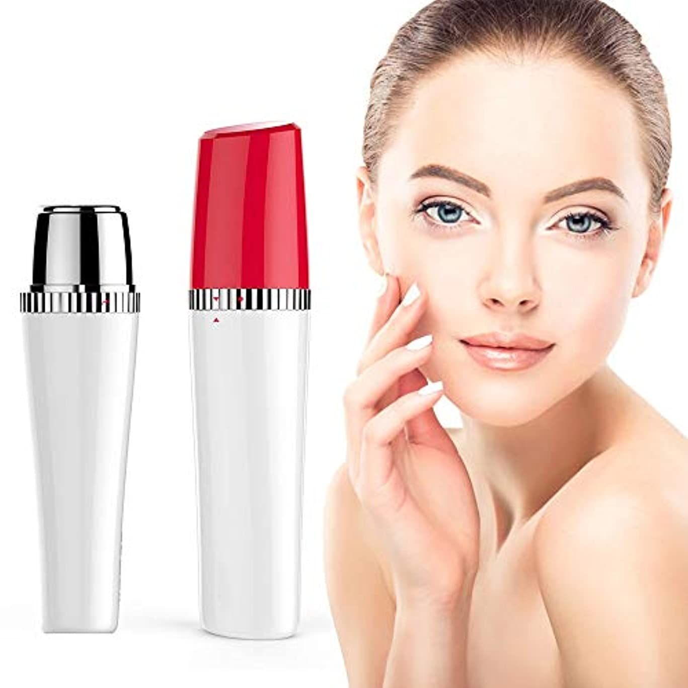 共同選択階下汚染する眉毛毛リムーバー、女性のためのひげリムーバー、女性の頬のために防水無痛完璧な髪リムーバー、唇、あごと首