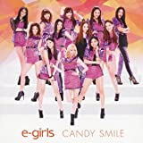 CANDY SMILE♪E-GirlsのCDジャケット