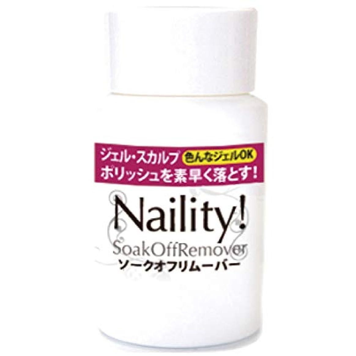 十金額無限大Naility! ソークオフリムーバー (リフィル) 500mL