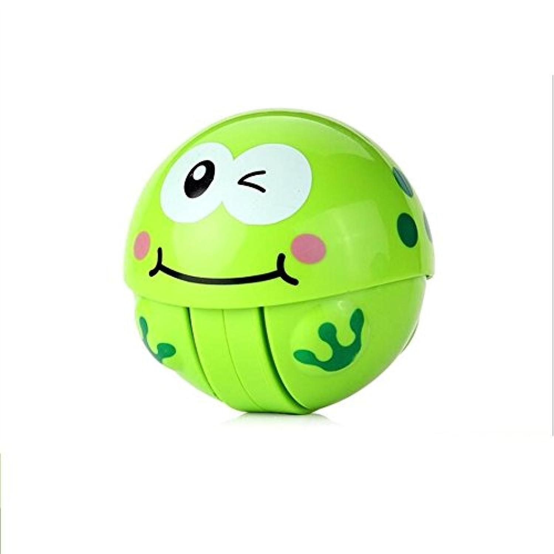 KEANER 新生児 乳児 ロールポリ おもちゃ 安全 子供 ボーリング ボール ベル タンブラー ゲーム 教育玩具 (グリーン)