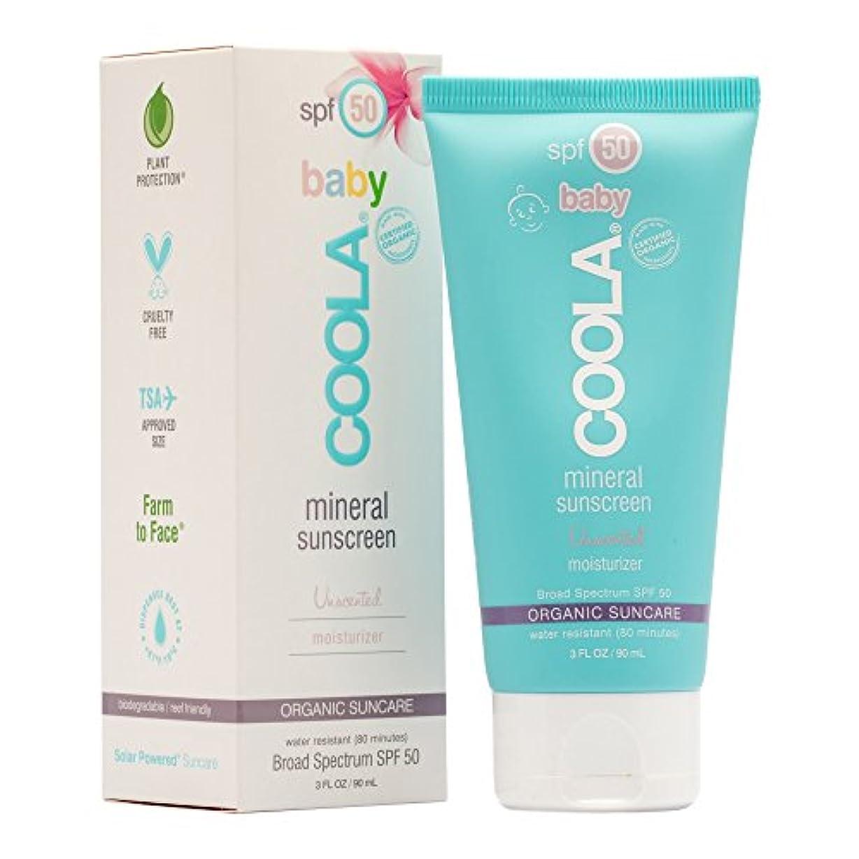 霜賢い分離Mineral Baby Sunscreen Moisturizer SPF 50 - Unscented