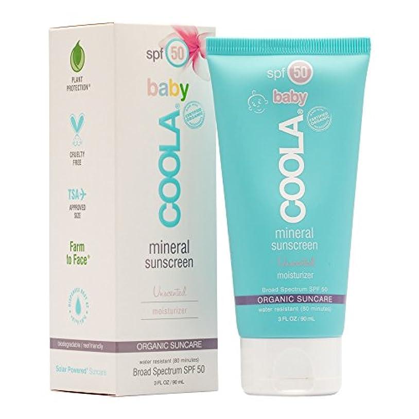 ボリューム絶望汚染されたMineral Baby Sunscreen Moisturizer SPF 50 - Unscented
