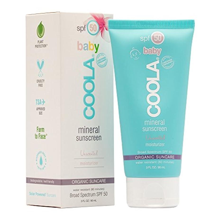 十分に誰も特徴Mineral Baby Sunscreen Moisturizer SPF 50 - Unscented