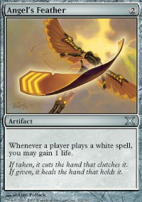 Magic: the Gathering - Angel's Feather (311/383) - Tenth Edition