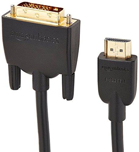 『Amazonベーシック HDMI-DVI 変換ケーブル 1.8m (タイプAオス - DVI24pinオス)』の4枚目の画像