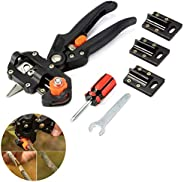 Professional Garden Grafting Pruning Pruner Cutting Tools, Fruit Tree Grafting Kit Shear Scissor for Plant/Branch/Twig/Vine/