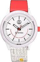[シチズン Q&Q] 腕時計 キューアンドキュー スマイルソーラー スマイルソーラー アセテート 2018 バーゼルワールド限定モデル 10気圧防水 RP24-001 メンズ ホワイト