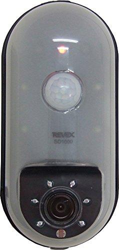 リーベックス microSDカード録画式センサーカメラ ブラ...