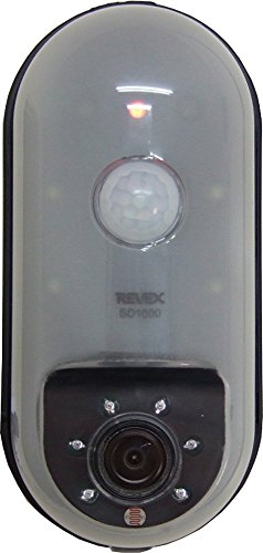 REVEX リーベックス SDカード録画式センサーカメラ S...
