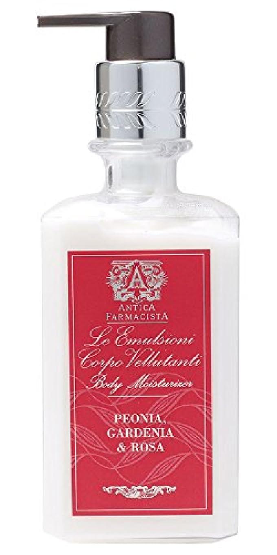 緊張楽しい雰囲気Antica Farmacista ボディローション ピオニア ガーデニア&ローザ 296ml