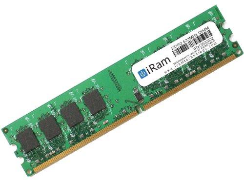 iRam Technology Mac用メモリ PC2-4200 240pin 1GB U-DIMM IR1G533D2