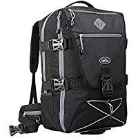 Cabin Max® Equator 44L Womens/Mens Backpacks - Perfect Hiking Backpack - Cabin Luggage 54x36x23cm fits Qantas and Air New Zealand - Laptop Slot and Integrated rain Cover!