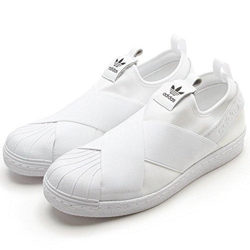 アディダス オリジナルス(adidas originals) 再入荷 adidas(Superstar Slip On W/スーパースタースリッポン)【ランニングホワイト(S81338)/24.5】