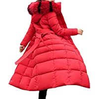 Macondoo Women's Fashion Quilted Puffer Outwear Cotton-Padded Down Jacket