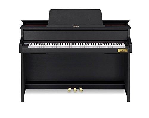 カシオ 電子ピアノ(ブラックウッド調)【高低自在椅子&ヘッドホン&楽譜集付き】CASIO CELVIANO(セルヴィアーノ) GP-300BK