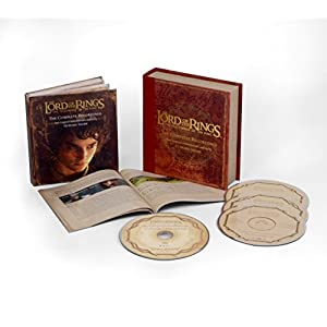 THE LORD OF THE RINGS: THE FELLOWSHIP OF THE RING, THE COMPLETE RECORDINGS (SOUNDTRACK) [3CD+BLURAY]
